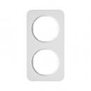 10122189 Рамка R.1, 2-местная, цвет: полярная белизна