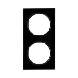 Berker 10122245 Рамка 2-я, Цвет: черный серия  купить в Москве, цена в России: опт, розница   smartipad.ru