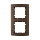 10123001 Рамкa B-3, алюминий, цвет: коричневый/антрацитовый