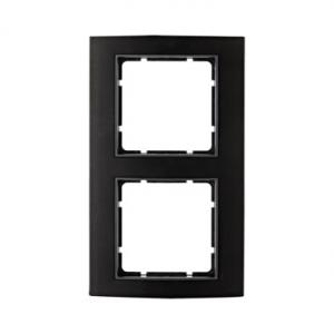Berker 10123005 Рамкa B.3, алюминий, цвет: черный/антрацитовый серия  купить в Москве, цена в России: опт, розница | smartipad.r