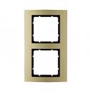 10123016 Рамкa B.3, алюминий, цвет: золотой/антрацитовый