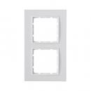 10126919 Рамкa B.7, 2-местная, цвет: полярная белизна