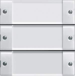 1013100 Кнопочный выключатель на 3 направления без контроллера с полем для надписи