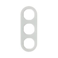 Berker 10132009 Рамка, R.Classic, 3-местная, стекло, цвет: полярная белизна (185,87) серия  купить в Москве, цена в России: опт,