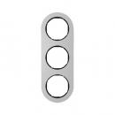 10132084 Рамка, R.Classic, 3-местная, алюминий, цвет: черный (185,87)