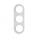 10132089 Рамка R.Classic, 3-местная, цвет: полярная белизна (50,91)