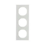Berker 10132209 Рамка R.3, 3-местная, стекло, цвет: полярная белизна (140,54) серия  купить в Москве, цена в России: опт, розниц