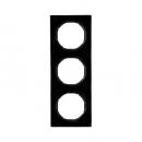 10132245 Рамка, R.3, 3-местная, цвет: черный (20,51)