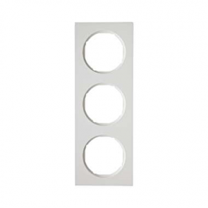 Berker 10132289 Рамка, R.3, 3-местная, цвет: полярная белизна (16,61) серия  купить в Москве, цена в России: опт, розница | smar