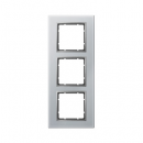 "10136414 Рамка 3-я, Цвет:""стекло - алюм./алюм."""