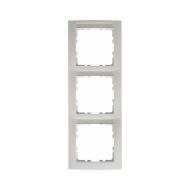 Berker 10139919 Рамка 3-я вертикальная, с полем для надписей белый серия  купить в Москве, цена в России: опт, розница   smartip