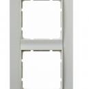 """10141909 Рамка 4-я вертикальная, Цвет:""""белый/белый"""""""