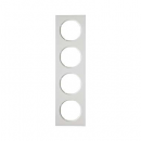 10142289 Рамка, R.3, 4-местная, цвет: полярная белизна (23,2)