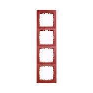 Berker 10148962 Рамкa 4-я, Цвет: красный серия  купить в Москве, цена в России: опт, розница | smartipad.ru