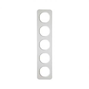 Berker 10152189 Рамка, R.1, 5-местная, цвет: полярная белизна (38) серия  купить в Москве, цена в России: опт, розница | smartip