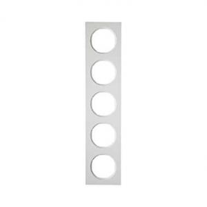 Berker 10152289 Рамка, R.3, 5-местная, цвет: полярная белизна (38) серия  купить в Москве, цена в России: опт, розница | smartip