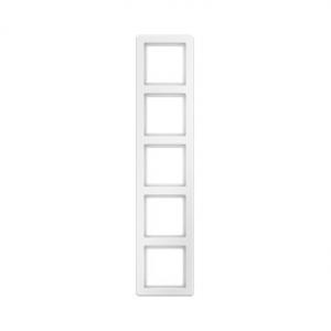 Berker 10156089 Рамкa 5-я Цвет: полярная белизна, с эффектом бархата серия  купить в Москве, цена в России: опт, розница   smart
