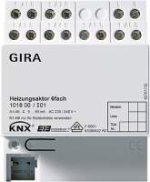 101800 Исполнительное устройство управления отоплением 6 канальное