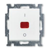 1020-0-0089 (1020/2 UCK-94) BJB Basic 55 Бел Выключатель 1-клавишный 2-полюсный, 20A