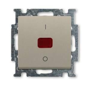 1020-0-0091 (1020/2 UCK-93) BJB Basic 55 Шамп Выключатель 1-клавишный 2-полюсный, 20A