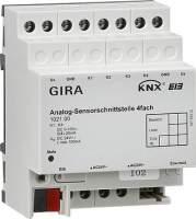 102100 Аналоговый вход GIRA instabus knx-eib серия. 4 канальный