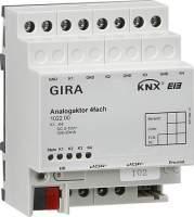 102200 Аналоговый выход GIRA instabus knx-eib серия 4 канальный