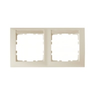 Berker 10228912 Рамка 2-я вертикальная с полем для надписей, Цвет: белый серия  купить в Москве, цена в России: опт, розница   s