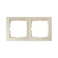 Berker 10228912 Рамка 2-я вертикальная с полем для надписей, Цвет: белый серия  купить в Москве, цена в России: опт, розница | s