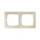 10228912 Рамка 2-я вертикальная с полем для надписей, Цвет: белый