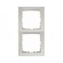 10228919 Рамка 2-я вертикальная с полем для надписей, Цвет: полярная белизна, с блеском