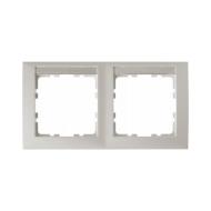 Berker 10229919 Рамка 2-я горизонтальная, с полем для надписей белый серия  купить в Москве, цена в России: опт, розница | smart