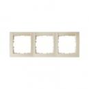 10238912 Рамка 3-я вертикальная с полем для надписей, Цвет: белый, с блеском