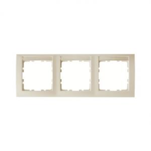 Berker 10238912 Рамка 3-я вертикальная с полем для надписей, Цвет: белый, с блеском серия  купить в Москве, цена в России: опт,