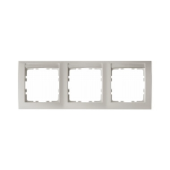 Berker 10239919 Рамка 3-я горизонтальная, с полем для надписей белый серия  купить в Москве, цена в России: опт, розница | smart