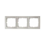Berker 10239919 Рамка 3-я горизонтальная, с полем для надписей белый серия  купить в Москве, цена в России: опт, розница   smart