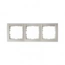 10239919 Рамка 3-я горизонтальная, с полем для надписей белый