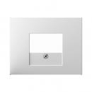 """10357009457206 Аудиорозетка под зажим, Цвет:""""белый"""""""
