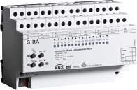 103800 Реле/устройство управления жалюзи GIRA instabus knx-eib серия KNX/EIB, 16/8-канальное