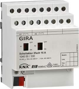 104000 Исполнительное устройство GIRA instabus knx-eib серия