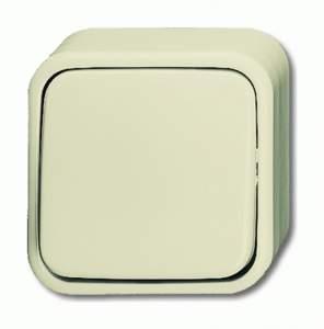 1042-0-0621 (2601/6 AP) BJE Duro 2000 Бел Переключатель для открытого монтажа
