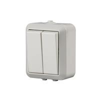 1065SW Jussi Бел Выключатель 2-кл.,1P, 16А/230В поверхностный монтаж IP44