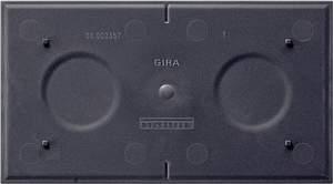 108400 Опорная плата для вставки для ориентирования в темноте 2-я для Розетки и выключатели/Gira/Gira EVENT серия