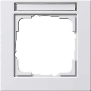 109122 Рамка одинарная с полем для надписи