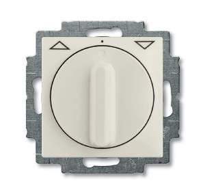1101-0-0931 (2723 UCDR-96) BJB Basic 55 Шале (бел) Выключатель жалюзийный поворотный без фиксации
