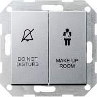 110426 Двухклавишный выключатель в сборе для управления индикатором состояния номера в гостинице