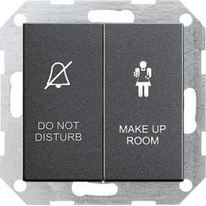 110428 Двухклавишный выключатель в сборе для управления индикатором состояния номера в гостинице