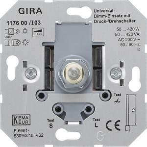 117600 Универсальный светорегулятор поворотный 50-420 Вт
