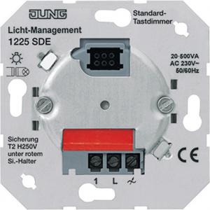 1225SDE Мех Светорегулятор нажимной 20-500Вт/ВА для л/н и обмоточных трансформаторов