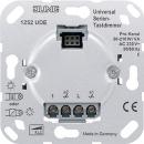 1252UDE Мех Светорегулятор 2-канальный нажимной 50-260 Вт/ВА на канал для л/н, электр. и обмо. тр-ров