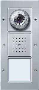 126965 Плоская наружная дверная станция с видеокамерой 1-канальная